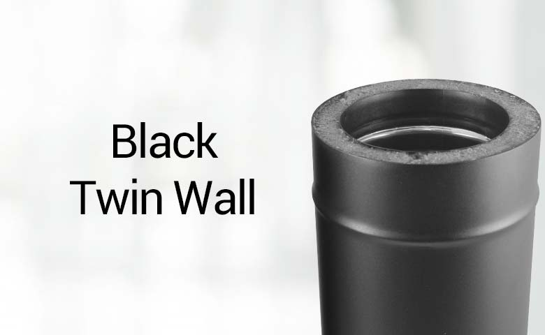 Black Twin Wall